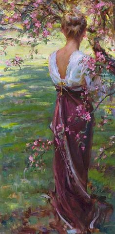 Por amor al arte: Daniel F. Fine Art, Beautiful Paintings, American Artists, Belle Photo, Painting Inspiration, Portrait Inspiration, Female Art, Painting & Drawing, Woman Painting