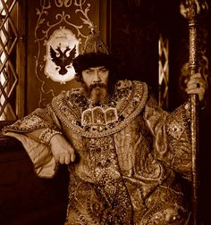 The Guild of Purveyors to the Kremlin has made a unique photo-session with the stars of Russian Big Theatre.During the photo-session actors wore historic outfits and were put into the real interiors their characters have lived | Image:: Boris Godunov - The Throne Hall in The Teremnoy Palace, The Kremlin