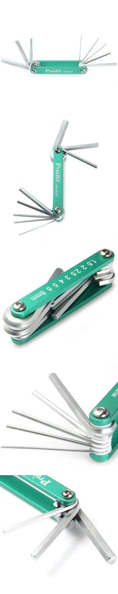Proskit HW-221M 8 in 1 Foldable Hex Key Wrench Set