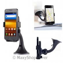 ANYMODE SUPPORTO ORIGINALE AUTO VENTOSA UNIVERSALE TELFONI SMARTPHONE RUOTABILE 360° NUOVO BLACK NERO SU - WWW.MAXYSHOPPOWER.COM