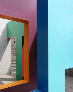Krijn de Koning at Turner Contemporary #colourblocking #krijndekoning
