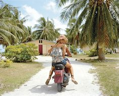 In Tahiti by Official Roxy Photos, via Flickr