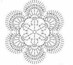 #crochet #crochet flower #pattern