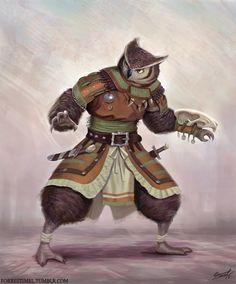 Dungeon Inspiration : Photo  #owl #monk