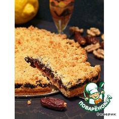 """Рецепт: Иракский орехово-финиковый пирог """"Гилацги"""""""