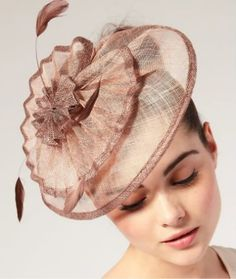 Mother Of The Bride Hairstyle And Fascinator Mother Of