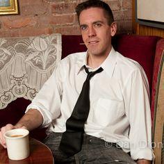 Portrait of comedian Jesse Joyce by photographer Dan Dion.