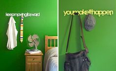 Quote Hooks, so cute!