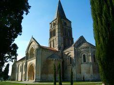 église d' Aulnay de Saintonge.Poitou-Charentes