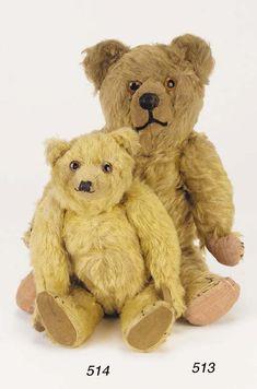 An early British teddy bear   Christie's