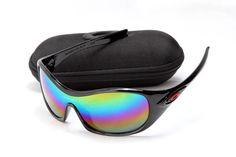 ef280672b62 Oakley Women Sunglass Black Frame Multicolor Lens Sale