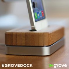 Get up close and personal with our new Grove Dock!