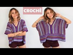 Crochet a collared cardigan vest lace jacket - ear of wheat stitch (with Spanish subtitles) - Crochet Printables