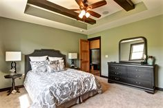 One of our favorite master bedrooms that we've done! Contact Lake Hallie Cabinets & Design to learn more about how we can make your dream bedroom a reality! Relaxing Master Bedroom, Master Bedrooms, Dream Bedroom, Parade Of Homes, Closet Designs, Bath Design, Cabinet Design, New Builds, Home Projects
