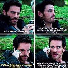 """I just push the Emma button"" oh Hook! Once Upon a Time 4x03"