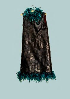 Dress designed and made by the artist Hannalie Taute South African Artists, Love Affair, Sculpture, Dress, Design, Fashion, Moda, Dresses, Fashion Styles