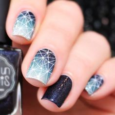 you should stay updated with latest nail art designs, nail colors, acrylic nails, coffin nails, almond nails, stiletto nails, short nails, long nails, and try different nail designs at least once to see if it fits you or not. Every year, new nail designs for spring summer fall winter are created and brought to light, but when we see these new nail designs on other girls' hands, we feel like our nail colors is dull and outdated. Item Type: Sticker & Decal Quantity: 1 Sheet Style: Black…