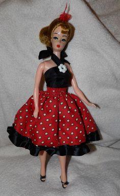 Vintage Bild Lilli - Early Barbie - Plastic Hong Kong - Clone Doll - Dressed in Dolls & Bears, Dolls, Clothing & Accessories, Vintage Dolls | eBay