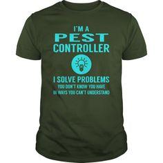 Pest Controller I Solve Problem Job Title Shirts Guys Tee Hoodie Ladies Tee Pest Control T Shirts Bugstars Pest Control T Shirt Pest Control T Shirt Design Bugstars Pest Control T Shirt