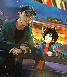 Hiro and Tadashi Hamada
