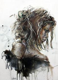 CECILE DESSERLE BURN INSIDE Format 130 x 97cmTechnique huile sur toile | Cécile Desserle - Site Officiel
