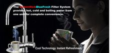 Fresh Filtered Water Directly from your tap