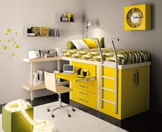 Tumidei Spa--really cool loft bed/study furniture