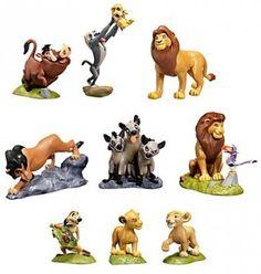Shenzi and Banzai and Ed hyenas PVC figure (2011)