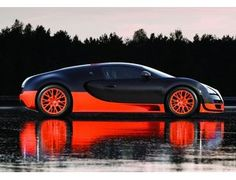 how about orange Bugatti? haha.