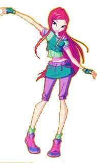 Winx club Roxy outfit