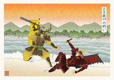 Ilustraciones de Game of Thrones al estilo tradicional de Japón – Nerdgasmo