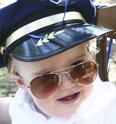 c2fe4862566 Ready for Halloween  Still time to order these cute toddler size aviator  sunglasses and pilot. Kids ...