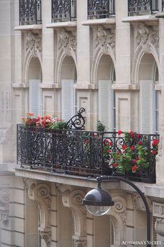 My home street in Paris - Adalmina's Secret
