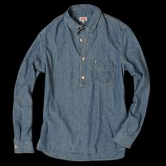 Levi's Vintage Clothing - One Pocket Sunset Shirt in Dark Chambray