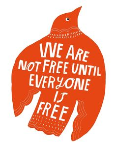 We Are Not Free - Lisa Congdon Art + Illustration School Murals, May We All, Online Portfolio, Comic Artist, Love Letters, Words Quotes, Sayings, Lisa, Illustration Art