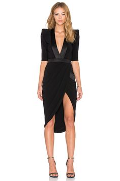 Zhivago Eye of Horus Dress in Black