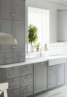 Like this, especially apron sink!