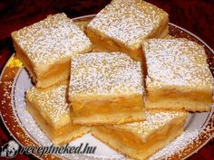 Sütéssel együtt is megvan perc alatt! Köszi a receptet, tényleg pofonegyszerű! Hungarian Desserts, Hungarian Recipes, Fall Bake Sale, Romanian Food, Cake & Co, Sweet Cookies, Fall Baking, Something Sweet, Cakes And More