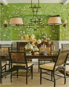 Chinoiserie Chic - An Overview of Decorating with Asian Themes- ferrante fixture