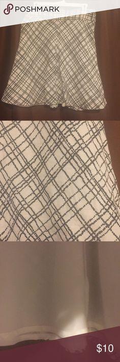 "Merona linen skirt 100% linen - lining 100% polyester -   21"" long Merona Skirts Midi"