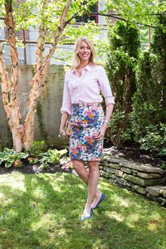 Stitch Fix Personal Styling Service, Perfect Box: Flower Skirt, Photos by Wish-6220-MLFH5.16 | | My Life From Home | Stitch Fix | summer wardrobe | summer outfits | women's fashion | workwear | summer outfits for work
