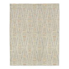 Staggered Diamond Wool Rug #westelm