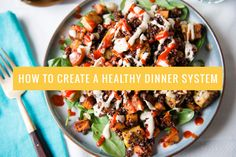 With our healthy dinner system, you can make a week's worth of vegetarian meals in one weekend. So easy!