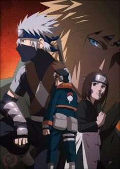 minato team ( kakashi , obito and rin )