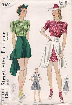 Simplicity 3380 via Vintage Pattern Wiki