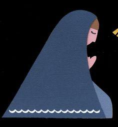 Mary from the Nativity Set