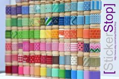 Washi Tape Assortment - 8 Yards Of Your Choice (24 Feet) - Sample Size!