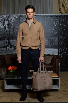 Tod's Fall 2014 Menswear Collection Slideshow on Style.com