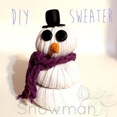 Sweater Snowman