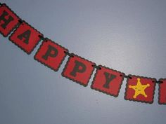 COWBOY BIRTHDAY BANNER by NanasPartyCreations on Etsy, $10.00